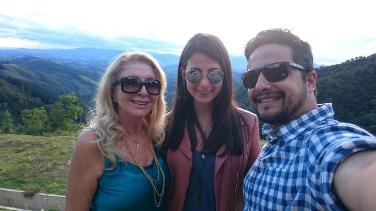 Muito amor nessa foto....Mamy, eu e Fi